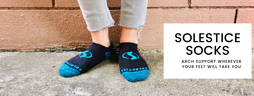 Solestice Socks: Socks With Gel Arch Support